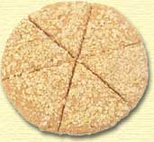 Scottish oat cake